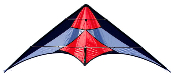 French Kiss Red Stunt Sport Kite