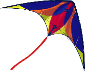 Cherry Bomb Scorch Stunt Sport Kite