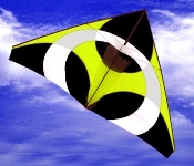 Ascension Yellow Delta Kite