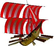 3D Viking Ship