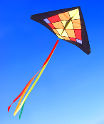 Sunbeam 4.5' Delta Kite